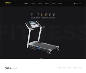 健身器材网站建设_W13500